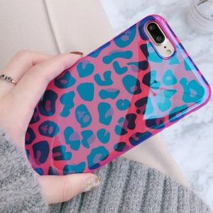 Accessories - Leopard Holographic iPhone X Case